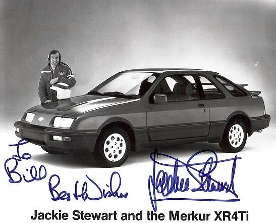 Merkur XR4Ti stewart
